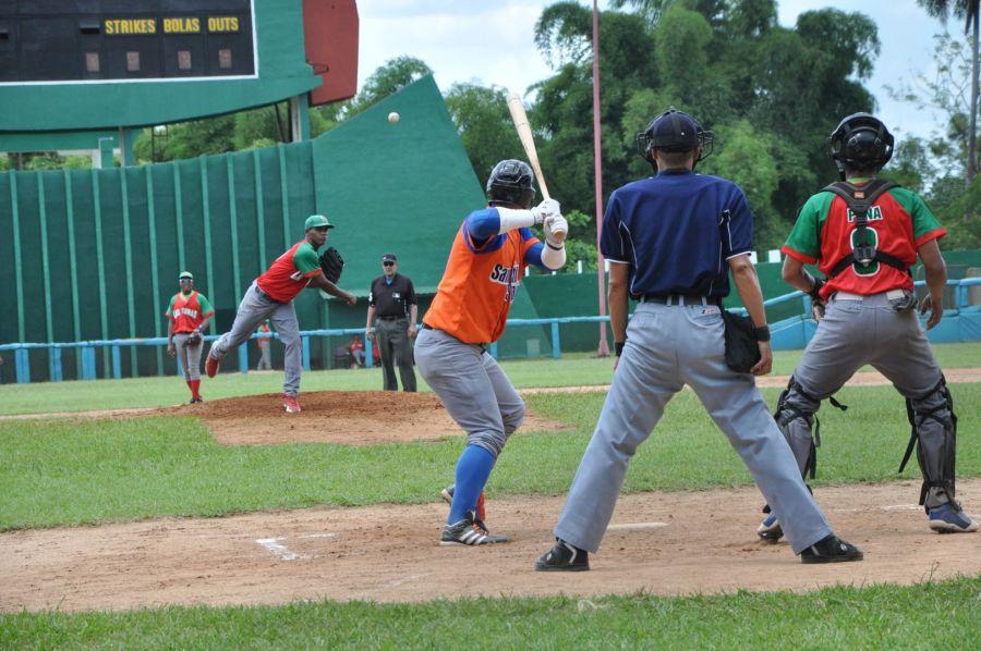 béisbol, sub 23, Santiago, Sancti Spíritus, Cuba