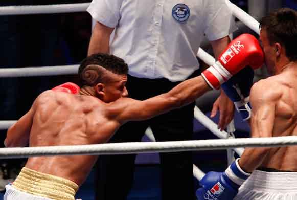 Boxero, Serie Mundial, Yosbany Veitia, Sancti Spíritus, Cuba