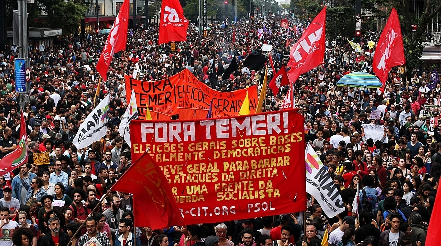 Brasil, Michel Temer, elecciones, protesta, Senado