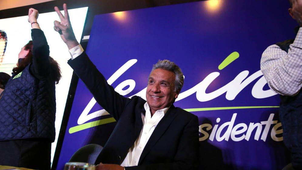 Ecuador, Lenín MOreno, presidencia, Rafael Correa