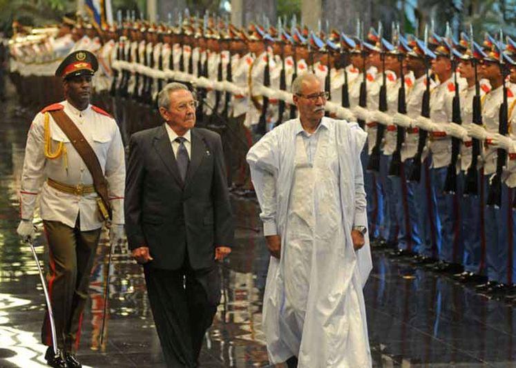 Raúl Castro, RASD, Cuba