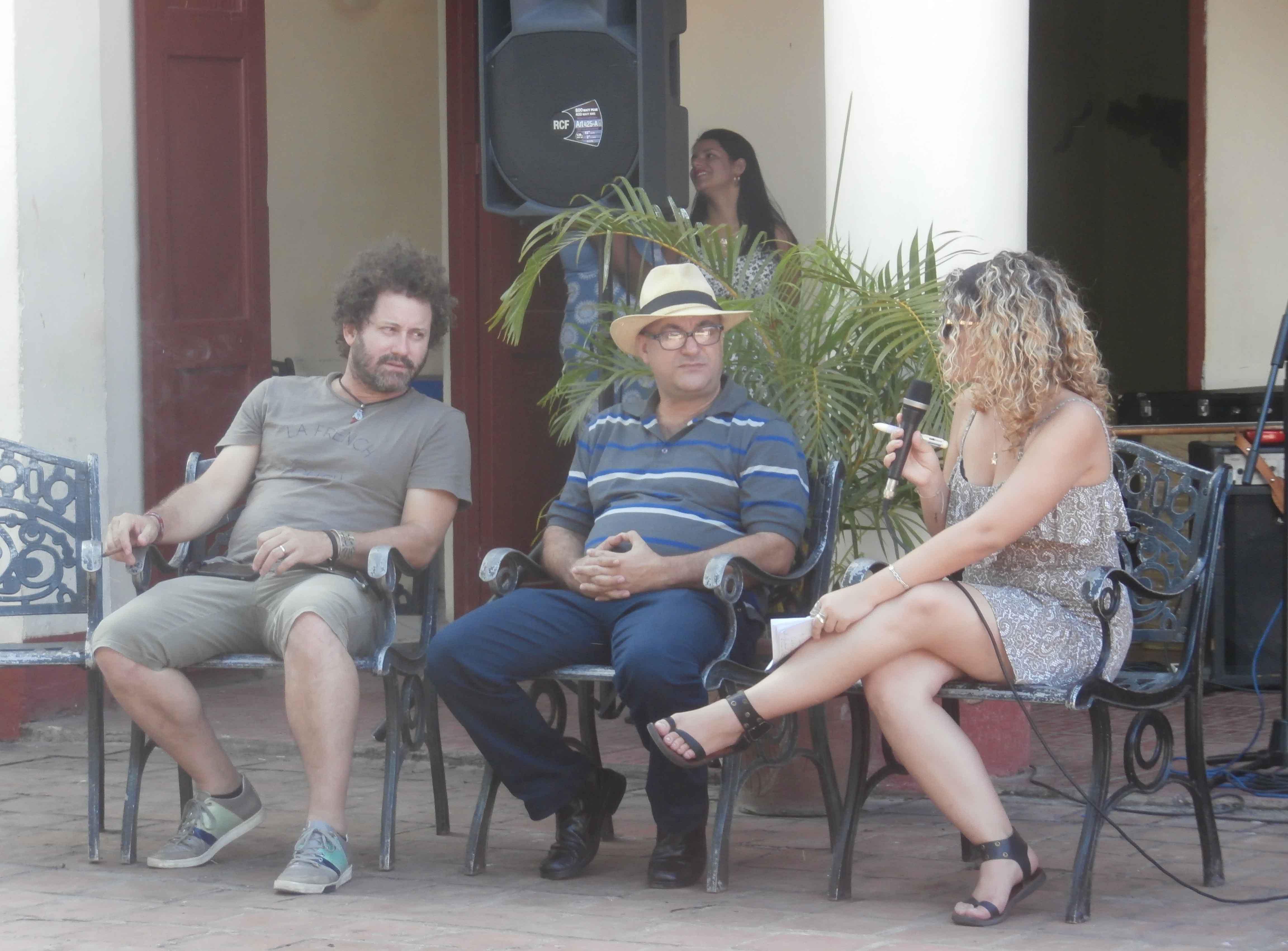 Raul Paz, Ernesto Limia, Guayabera, Universidad, Sancti Spíritus