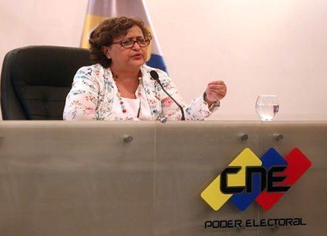Venezuela, elecciones, Tibisay Lucena