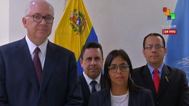Venezuela, ONU, Delcy Rodríguez, Europa