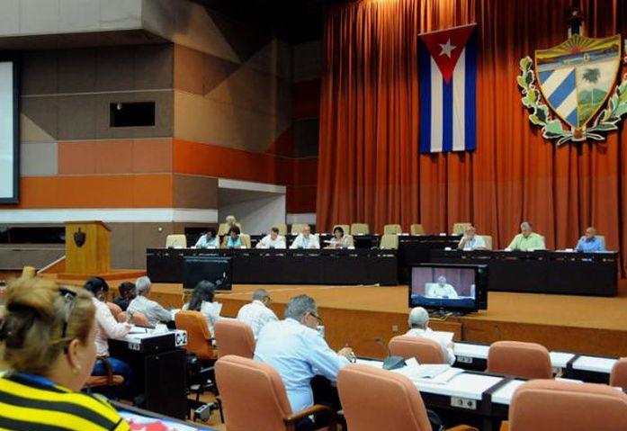 cuba, asamblea nacional del poder popular, parlamento cubano, VV congreso del partido comunista de cuba, pcc, raul castro, esteban lazo, miguel diaz-canel
