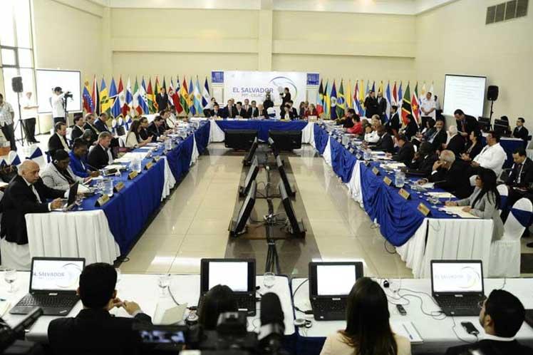 Celac, El Salvador, Venezuela, Cuba, canciller, Minrex
