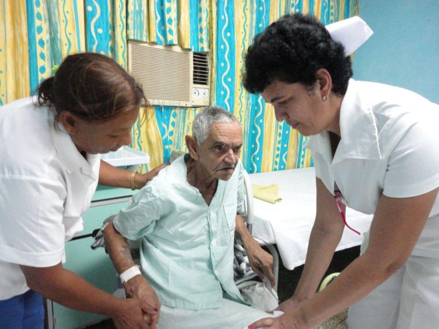 sancti spiritus, envejecimiento poblacional, esperanza de vida, 100 años, salud publica