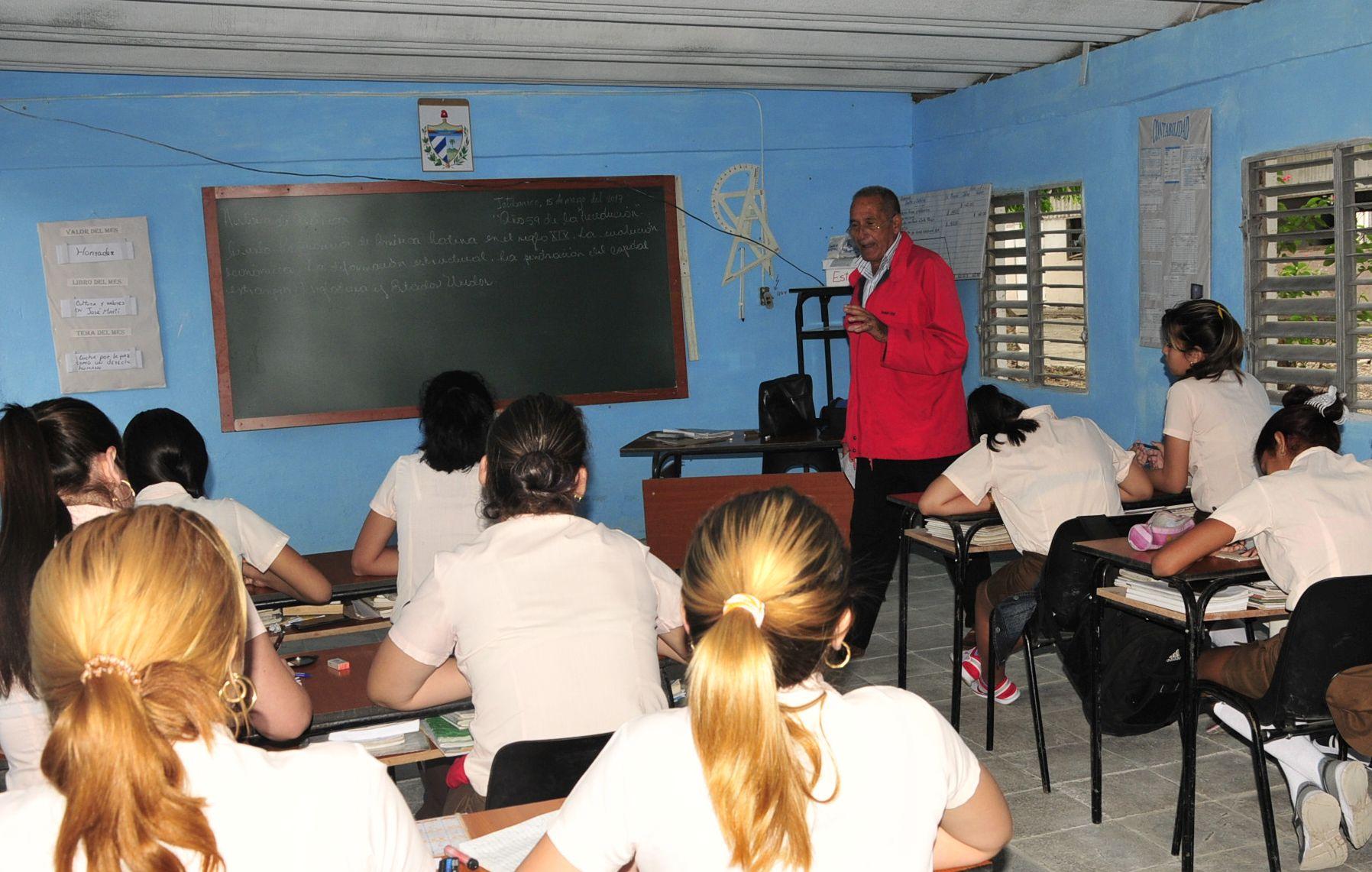 sancti spiritus, educacion, cobertura docente, escuelas padagogicas