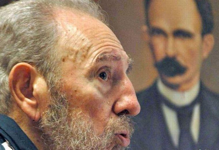 Fidel Castro, José Martí, Voces de la República, Sancti Spíritus, Cuba