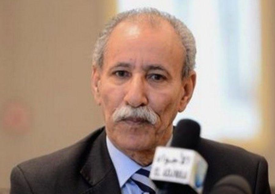 presidente de la República Árabe Saharaui Democrática, Brahim Ghali, cuba
