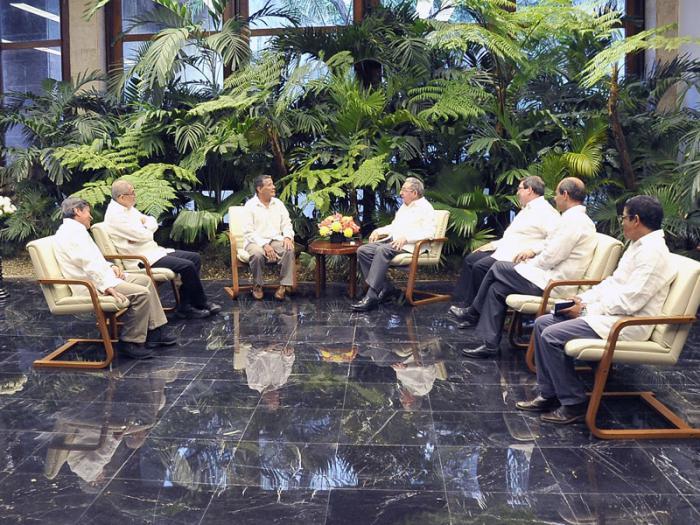 cuba, colombia paz, far-ep, ejercito de liberacion nacional de colombia