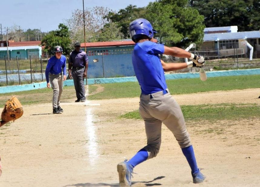 béisbol, sub 15, Sancti Spíritus, Cuba