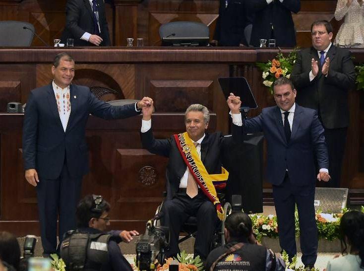 ecuador, lenin moreno, alianza pais, revolucion ciudadana