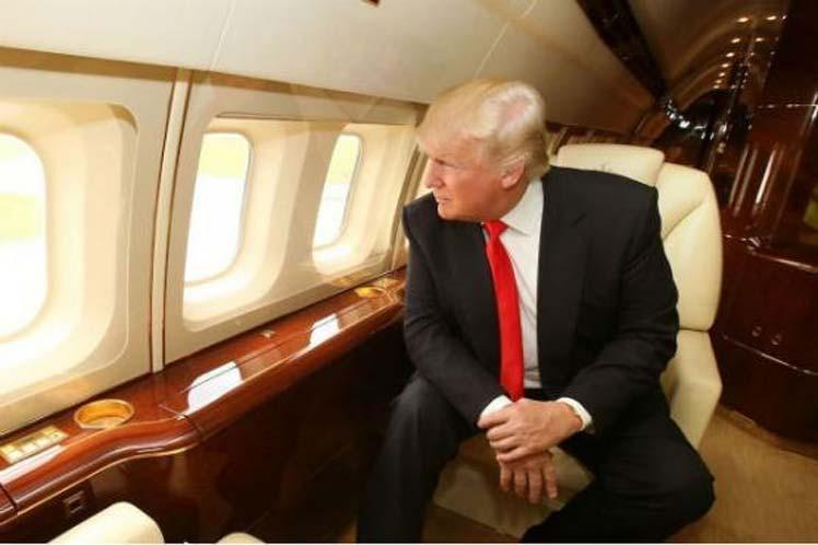 EE.UU, gira, Trump