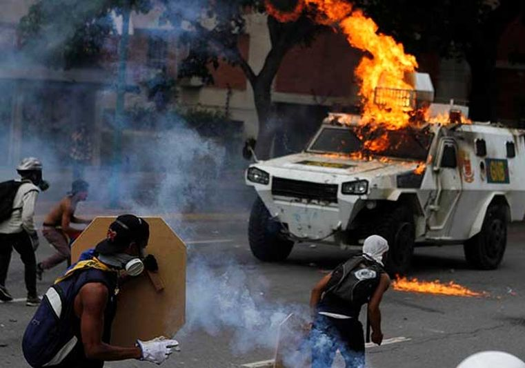 venezuela, violencia, derecha venezolana, oposicion venezolana