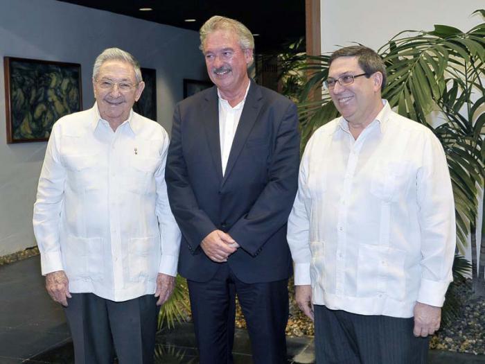 Cuba, Luxemburgo, Raúl Castro, Minrex