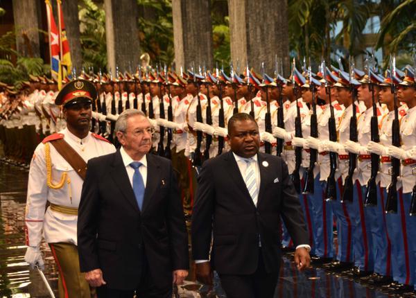 Cuba, Mozambique, Raúl Castro, presidente
