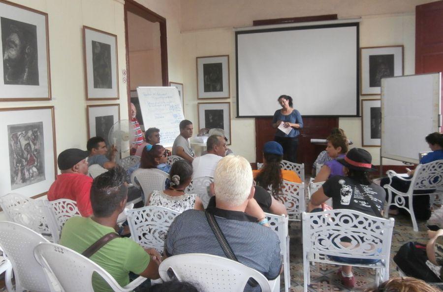 sancti spiritus, cultura comunitaria, casa de la guayabera