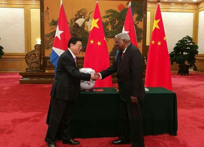 cuba, china, esteban lazo, parlamento cubano