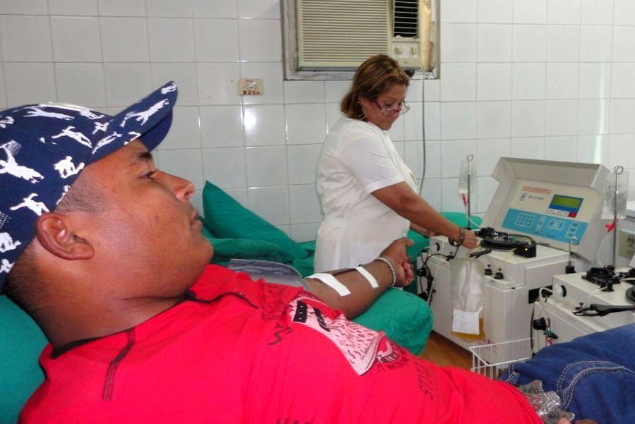 sancti spiritus, donaciones de sangre, salud publica, banco de sangre