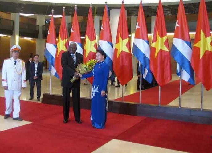 cuba, esteban lazo, asamblea nacional del poder popular, parlamento cubano, vietnam