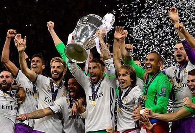 fútbol, Real Madrid, Champions