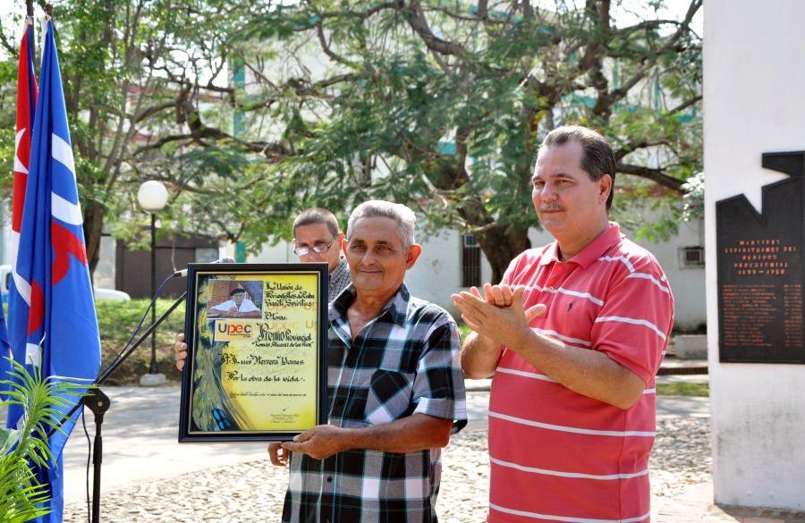sancti spiritus, periodistas, union de periodistas de cuba, upec, periodico escambray, luis herrera