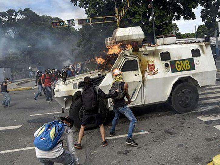 venezuela, oposicion venezolana, nicolas maduro, violencia