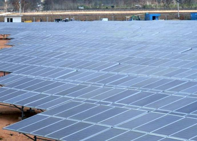 sancti spiritus, parque solar fotovoltaico, empresa electrica, cabaiguan