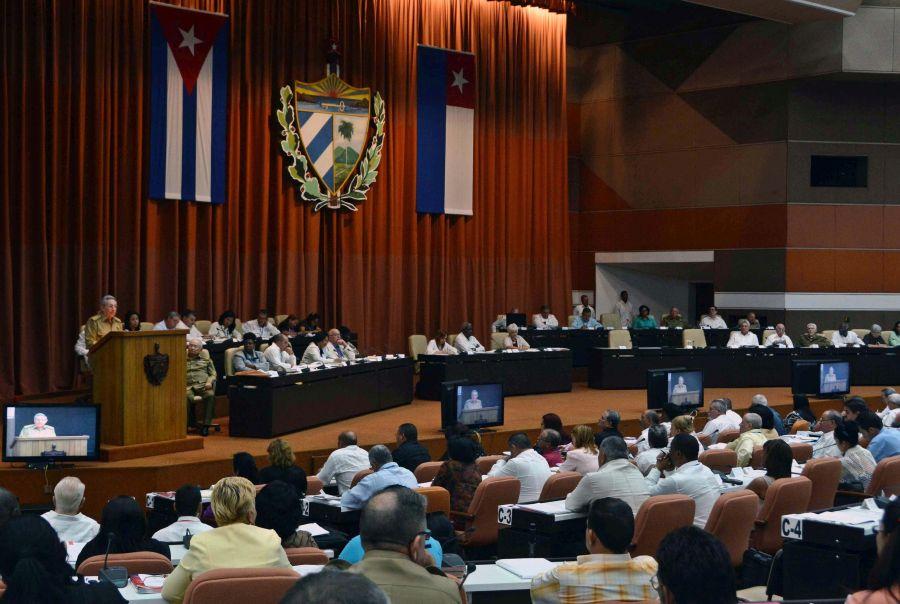 cuba, asamblea nacional del poder popular, parlamento cubano, raul castro, lineamientos, economia cubana