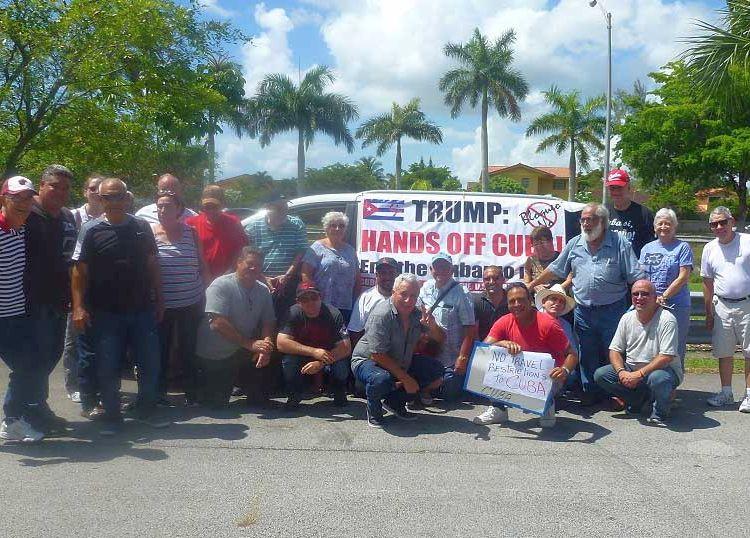 Cuba, EE.UU., bloqueo, Miami. caravana, Alianza Martiana