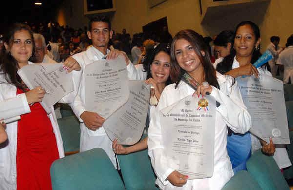 Cuba, ciencias médicas, salud, graduación