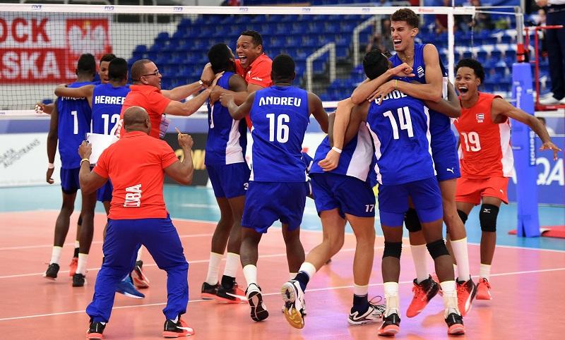 Cuba voleibol sub-21 periódico Escambray