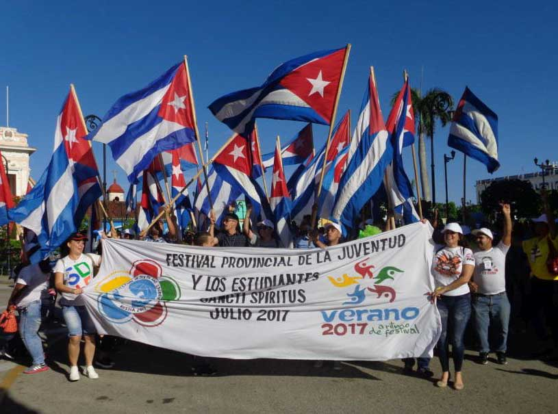 Festival, Juventud, Estudiantes, Sochi, Sancti Spíritus