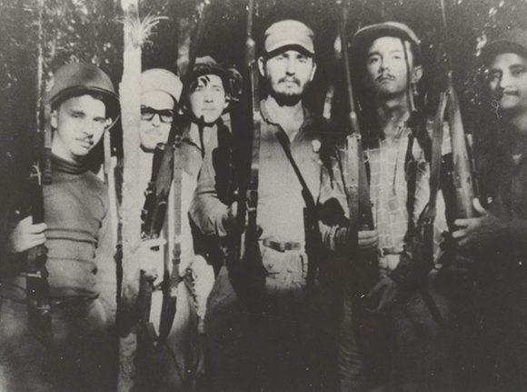 Fidel Castro, Frank Paíz, Raúl Castro, mártires, Revolución, Cuba, Sierra Maestra, Ejército Rebelde