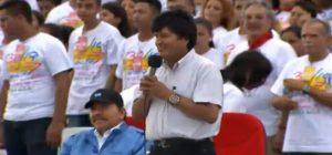 Bolivia, Nicaragua, vo Morales, Daniel Ortega