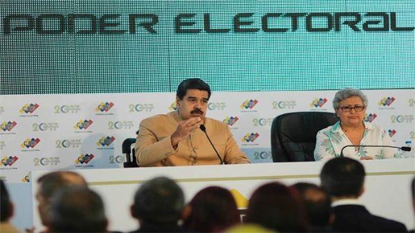 Nicolás Maduro, Venezuela, constituyente, EE.UU., sanciones