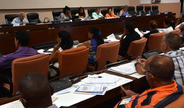 Parlamento, servicios, Asamblea Nacional. Cuba