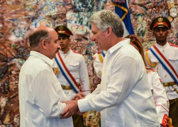 Cuba, embajadores, MINREX, Díaz-Canel, ébola