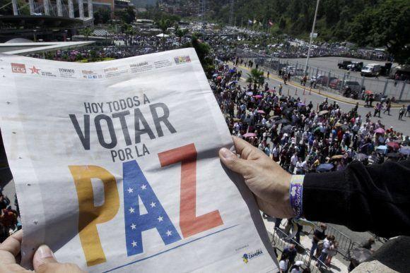 Venezuela, constituyente, comicios, votación