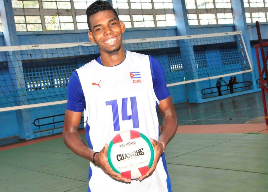 Voleibol, Mundial sub 21, Sancti Spíritus, Cuba, Adrián Goide