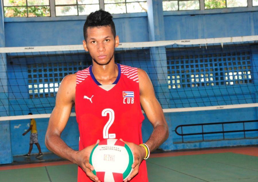 Voleibol, Mundial sub 21, Cuba, Sancti Spíritus, Osniel Melgarejo