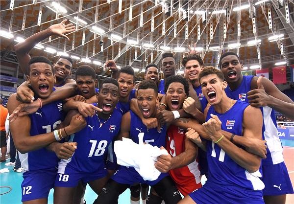 Cuba voleibol sub 21 periódico Escambray