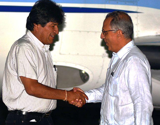 Cuba, Bolivia, Evo Morales