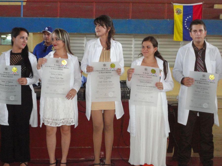Ciencias médicas, graduación, salud, Sancti Spíritus