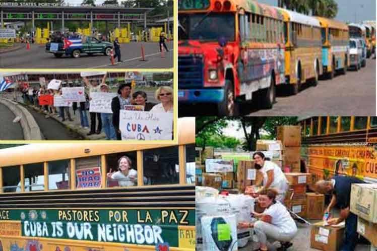 Cuba, Estados Unidos, Caravana, Pastores por la paz, religión