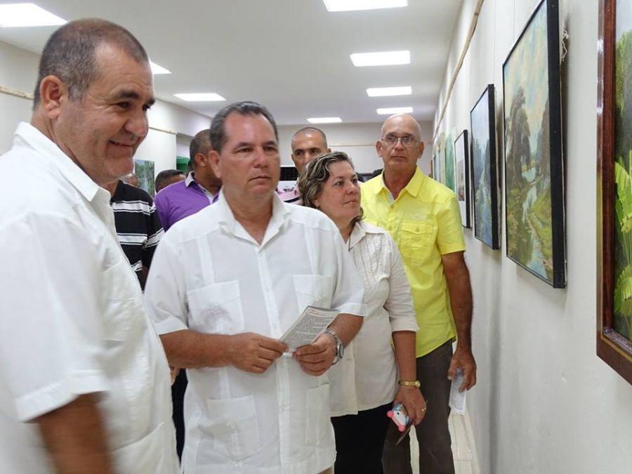 sancti spiritus, cultura, galeria de arte oscar fernandez morera, 26 de julio