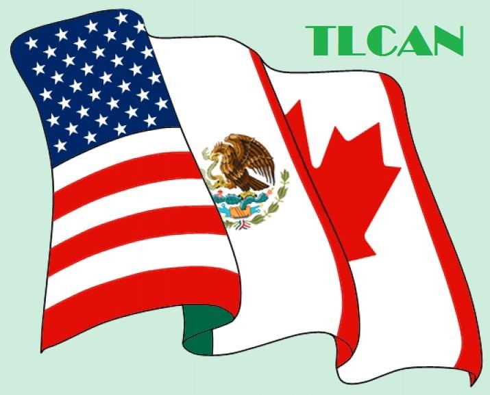 TLCAN, Canadá, Estados Unidos, México, libre comercio