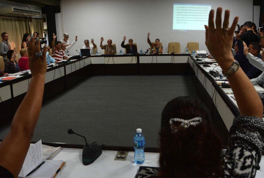 cuba, parlamento cubano, diputados cubanos, asamblea nacional del poder popular, relaciones cuba-estados unidos, donald trump