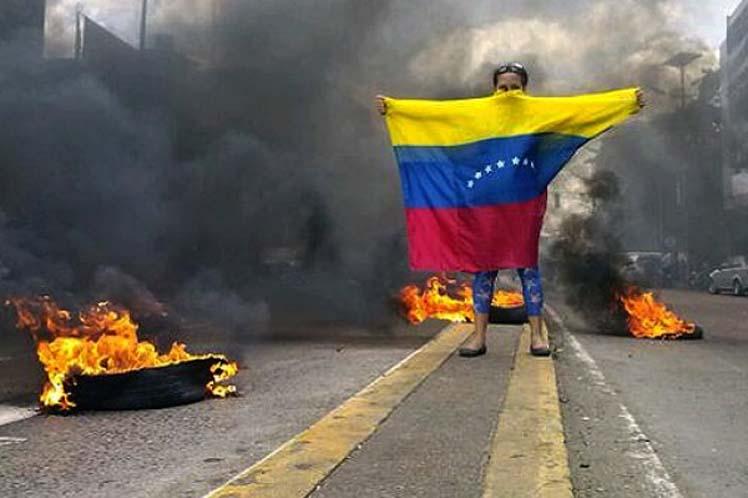 Venezuela, paro, derecha, oposición